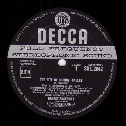 Decca Records Label Record Label of Decca uk